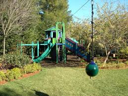 How To Build A Backyard Zip Line by Backyard Zip Line Without Trees Home Outdoor Decoration