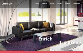 home design free website interior design bootstrap website template for free download