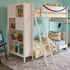 dwell mid century library bunk bed