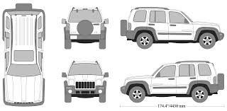 jeep white liberty jeep liberty 2003 blueprint download free blueprint for 3d modeling