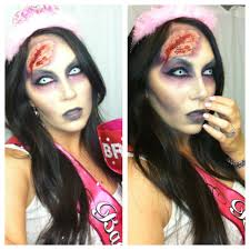 zombie contacts spirit halloween zombie bachelorette halloween makeup tutorial youtube