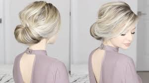 Simple But Elegant Hairstyles For Long Hair by Easiest Updo Ever Super Simple U0026 Perfect For Long Medium