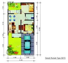 desain rumah lebar 6 meter desain rumah mungil type 36 pt architectaria media cipta