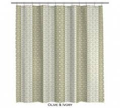 Green And Beige Curtains Green Shower Curtain Foter