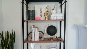 how to style a bookcase how to style a bookshelf youtube