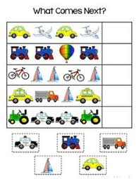 pattern practice games free transportation pattern practice page adding wooden toys to