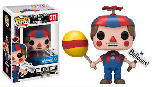 funko pop games five nights at freddy u0027s balloon boy walmart