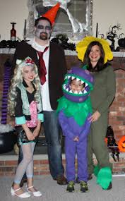 Plants Zombie Halloween Costumes Memory Nest Plants Zombies Costumes Continued