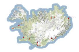 Iceland Map World Iceland Map