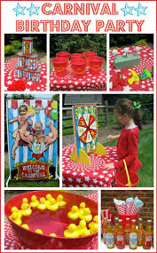carnival birthday party ideas a carnival circus themed birthday party driven by decor