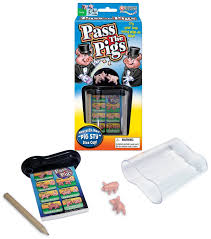 amazon com pass the pigs game with free dice cup toys u0026 games