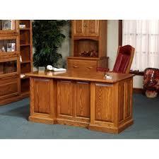 Executive Desks Office Furniture 860 Executive Desk 54 860 Amish Oak Office Furniture Made In Usa