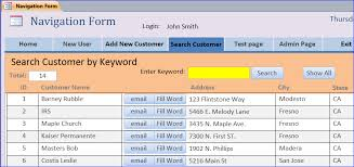 create search form using vba ms access iaccessworld com