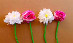 paper flowers how to make tissue paper flowers kidspot