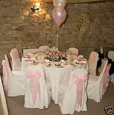 Wedding Chair Covers Wholesale 100 Wedding Chair Covers For Sale White New Ebay