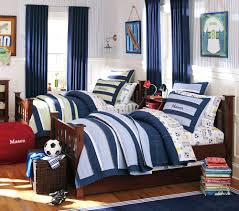 bedroom cool guys bedroom ideas with best decoration and full size of blue curtains blue white stripped wallpaper blue white bed set brush sconce blue bedroom