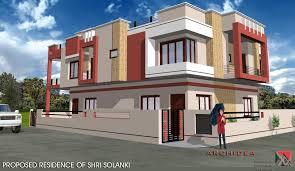 Corner House Floor Plans Corner House Designed Navneet Pandey Design Simple Home Plans