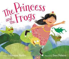 princess frogs writing kids raising