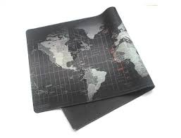 map pad black map mouse pad to assist in