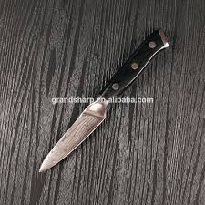japanese 3 5 inch damascus steel paring knife kitchen knife with
