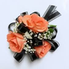 and black corsage prom flower delivery in las vegas signature flowers