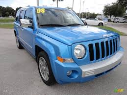 blue jeep patriot surf blue pearl 2008 jeep patriot limited exterior photo 54509651