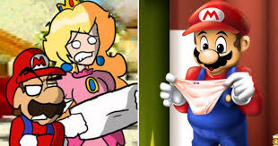 5 Of The Biggest Super Mario Controversies Youtube - inappropriate things you never found in super mario thegamer