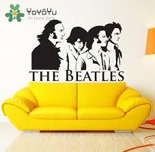 aliexpress com buy the beatles wall decal art vinyl poster decor