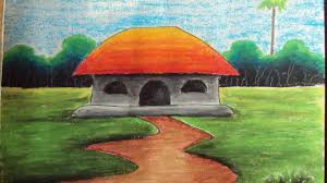 pastel painting how to draw a scenery video dailymotion