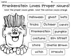 the 25 best proper nouns worksheet ideas on pinterest proper