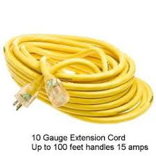 how to select the right electrical extension cord
