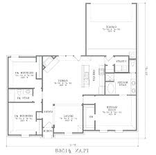 one floor home plans rectangular home plans bright design 7 rectangular ranch house