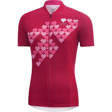 women u0027s element lady digi heart jersey gore bike wear
