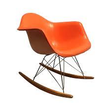 Eames Fiberglass Rocking Chair 50s Original Eames Rocking Chair Chairish