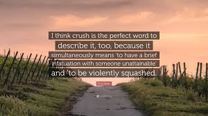 describe it elna baker quote u201ci think crush is the perfect word to describe