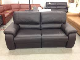 Kingvale Power Recliner Furniture Power Reclining Leather Sofas Electric Reclining