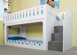 Bunk Bed With Stair Deluxe Funtime Bunk Bed Shorty Bunk Beds Beds