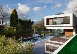 lodge by dyergrimes architects in tandridge england