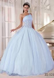 quinceanera dresses 2014 2014 gorgeous one shoulder light blue quinceanera dress with