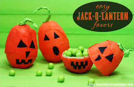 Halloween Party Favors Easy Diy Jack O Lantern Party Favors Kim Byers