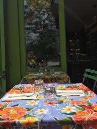 Outdoor Sitting Area East Village Staple Esperanto Boasts Vibrant Outdoor Seating Area