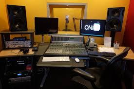 tv studio desk hoax studios on broadcast communications content led broadcast