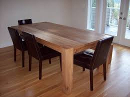 White And Oak Dining Table Beautiful Ideas White Oak Dining Table Extraordinary White Oak