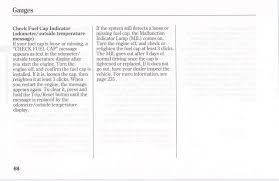 gas cap light jeep check fuel cap indication won t clear page 2 honda pilot