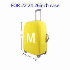 suitcases luggage protective cover dustproof for 18 22 inch suitcases mouse