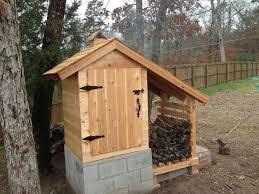 smoke house love the personal wood shed because i have the wood