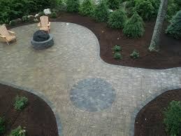 Paver Patio Cost Calculator Laura Paver Patio Fire Pit Insured By Laura