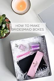 bridesmaid boxes how to make bridesmaid boxes rosalilium