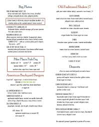 lunch and dinner menu boathouse 19