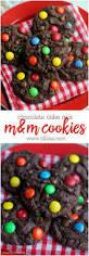 chocolate cake cookies